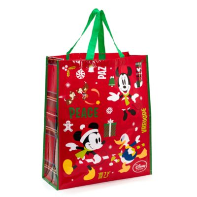Mickey Mouse and Friends Large Reusable Christmas Bag