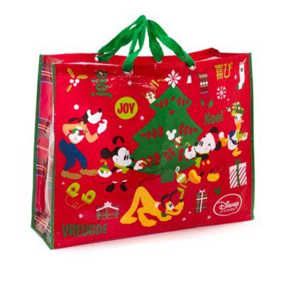 Sac de Noël réutilisable Mickey Mouse et ses amis extra large