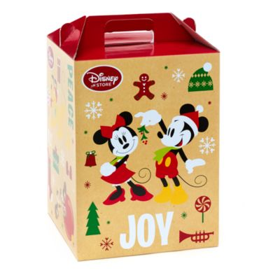 Mickey Mouse and Friends Christmas Large Barn Box