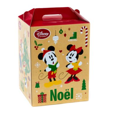Micky Maus und Freunde - Weihnachtsgeschenkbox mit Griff mittelgroß