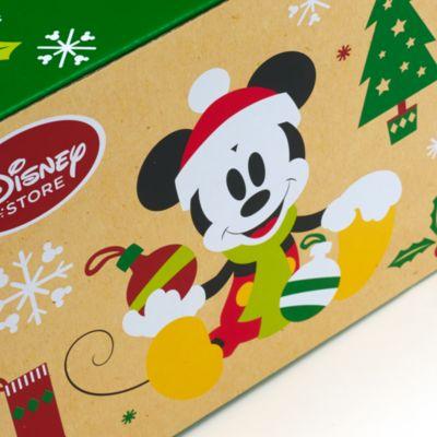 Scatola regalo natalizia per tazza Topolino e Minni, piccola