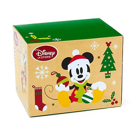 Lille Mickey og Minnie Mouse gaveæske til jul