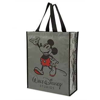 Disney Store Borsa riutilizzabile collezione Walt Disney Studios Topolino