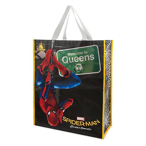 Spider-Man Homecoming stor återanvändbar shoppingväska