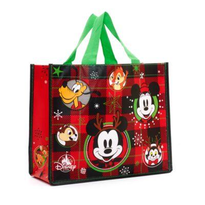 Petit sac de shopping réutilisable Mickey et ses amis