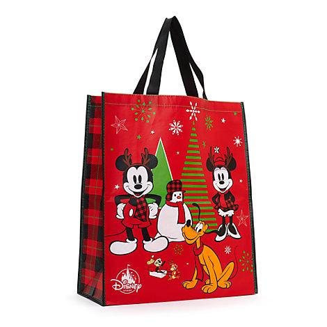 Micky Maus & Freunde - Mehrweg-Einkaufstasche, groß