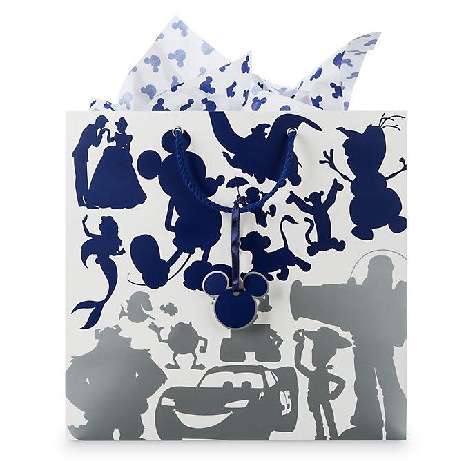 Disney Store Disney Fun Gift Bag Set, Medium