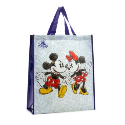 Mickey and Minnie Reusable Shopper Bag, Large