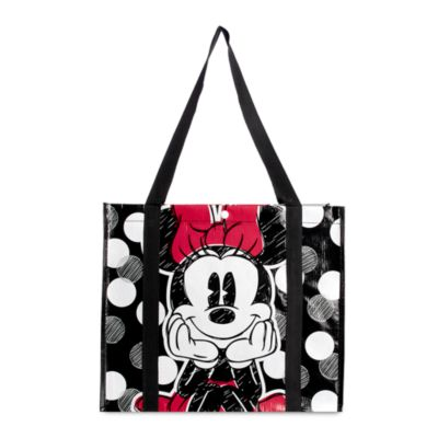 Bolsa reutilizable mediana Minnie Rocks the Dots