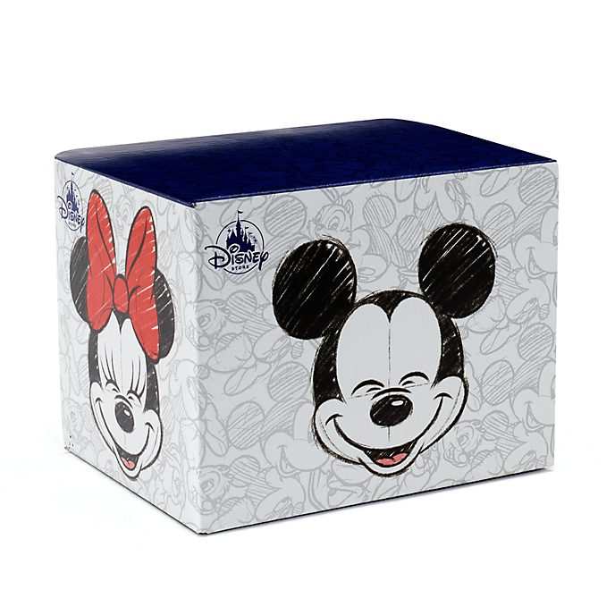 Caja taza Mickey y Minnie Mouse, Disney Store