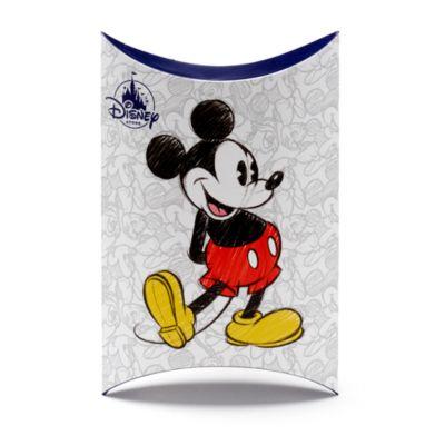 Caja de regalo almohada mediana, Mickey y Minnie Mouse