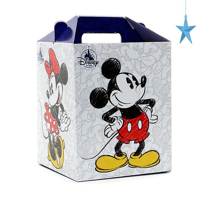 Disney Store Boîte cadeau de taille moyenne, Mickey et Minnie Mouse