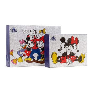 Petite boîte cadeau Mickey et Minnie