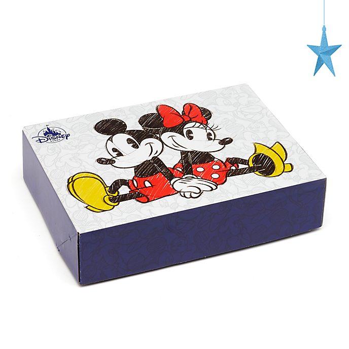 Caja de regalo pequeña Mickey y Minnie Mouse, Disney Store