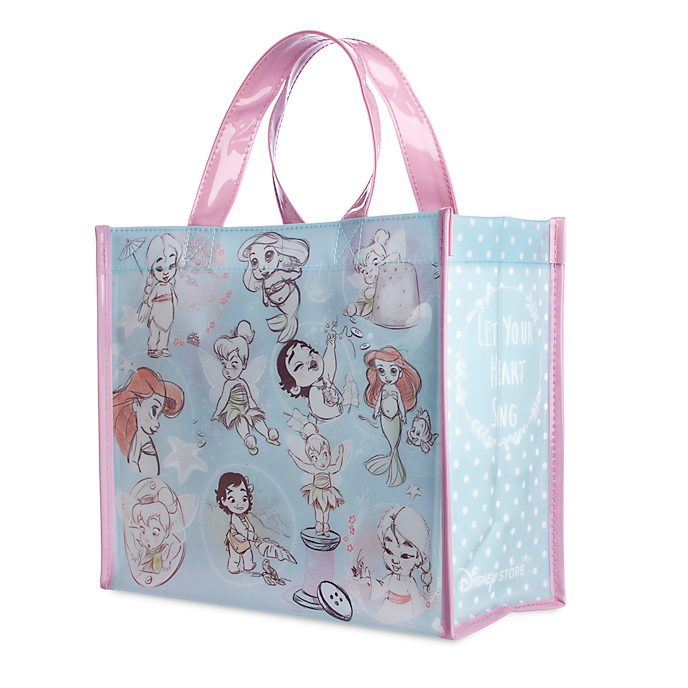 Disney Store Sac de shopping réutilisable, collection Disney Animators