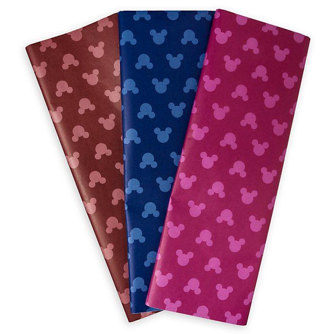 Lot de 9feuilles de papier de soie Mickey Mouse