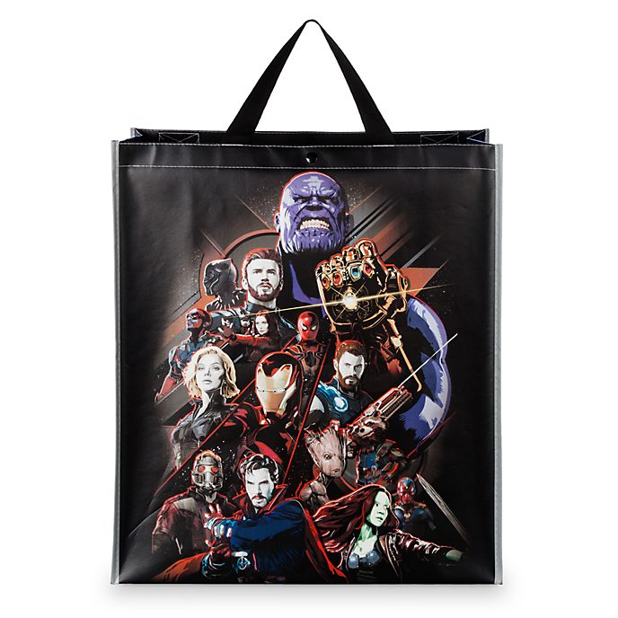 Disney Store Avengers: Infinity War Reusable Shopper Bag, Large