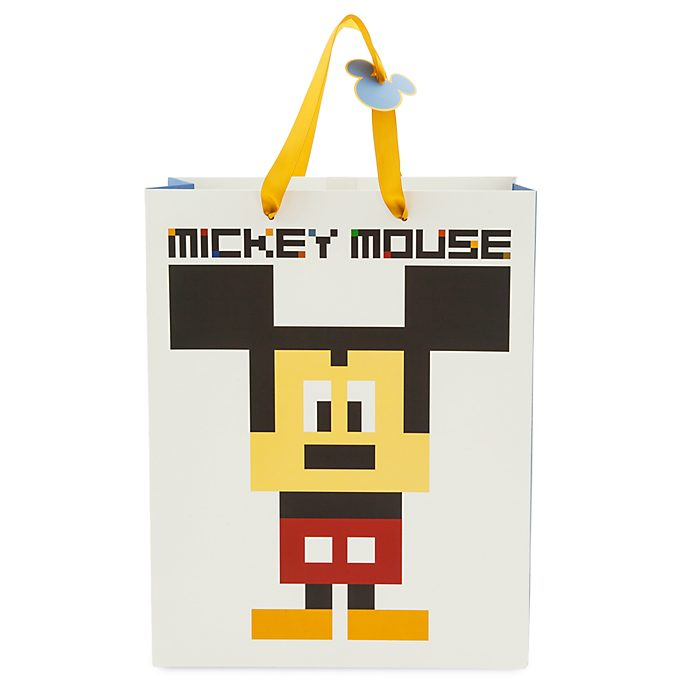 Disney Store Sac cadeau Mickey Mouse, taille moyenne