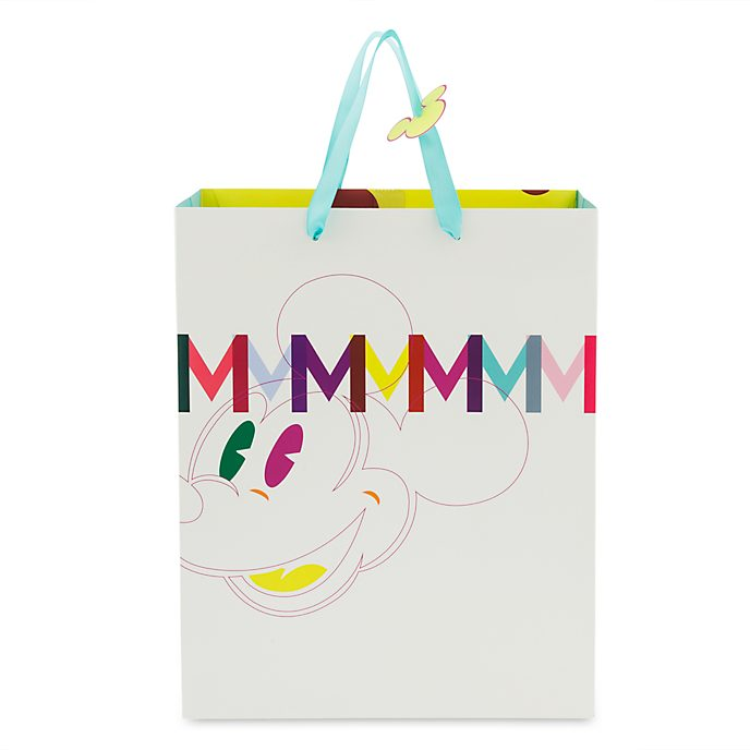 Disney Store Mickey Mouse Bold Gift Bag, Medium