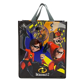 Disney Store Sac de shopping réutilisable de taille standard Les Indestructibles 2