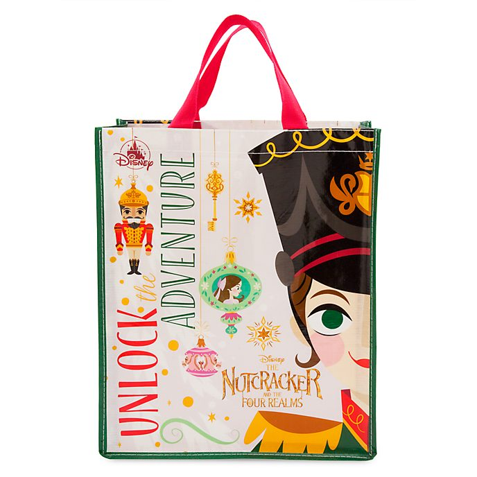 Disney Store Sac de shopping Casse-Noisette et les quatre royaumes réutilisable, taille moyenne