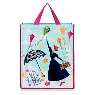 Disney Store Sac de shopping Le Retour de Mary Poppins réutilisable, taille moyenne