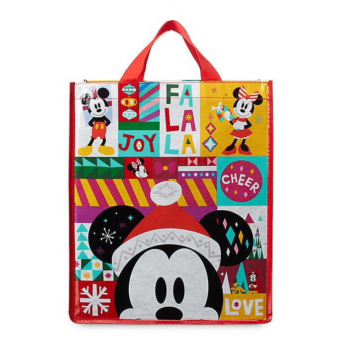 Disney Store Sac de shopping réutilisable standard Mickey et ses amis, Share the Magic