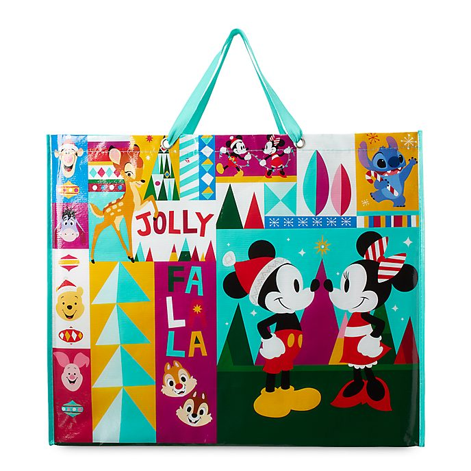 Disney Store Mickey and Friends Share the Magic Reusable Shopper, Extra Large