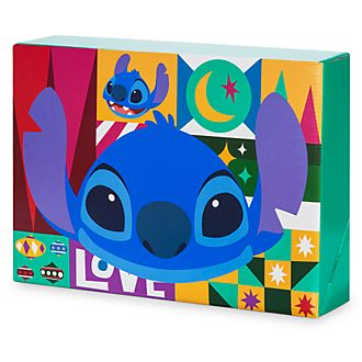 Disney Store Boîte cadeau Stitch de taille moyenne, Share the Magic