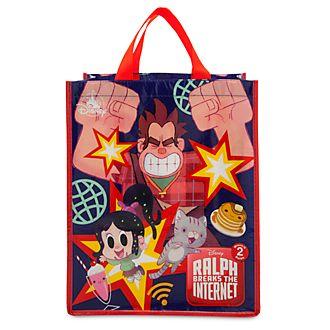 Disney Store - Ralph Reichts 2 - Mehrweg-Einkaufstasche, mittelgroß