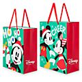Disney Store Lot de 2 grands sacs cadeau Mickey et Minnie