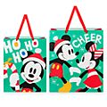 Disney Store Mickey and Minnie Large Gift Bags, Set of 2