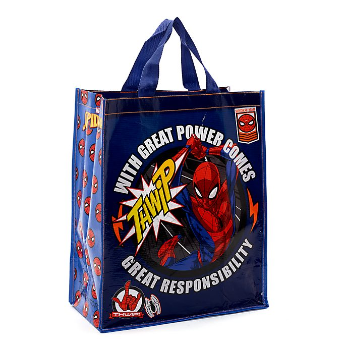 Disney Store Spider-Man Reusable Shopper, Medium