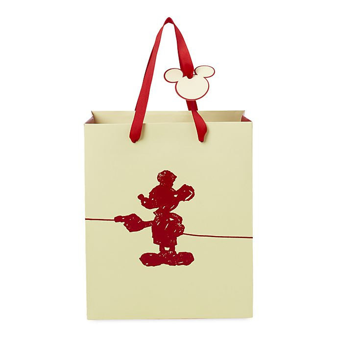 Disney Store Sac cadeau deluxe Mickey Mouse, petite taille