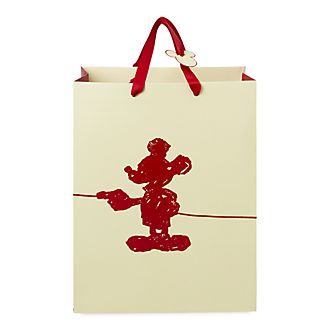 Disney Store Sac cadeau deluxe Mickey Mouse, moyenne taille