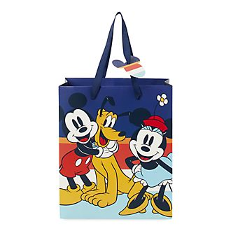 Disney Store Mickey and Friends Deluxe Gift Bag, Small