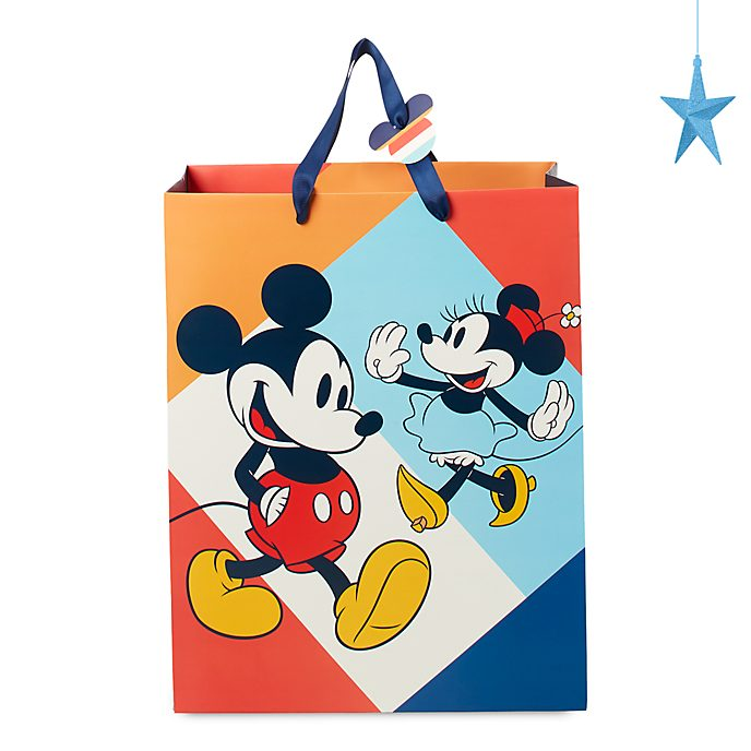 Borsa regalo media Topolino e Minni Disney Store