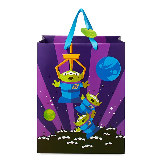 Disney Store Aliens Deluxe Gift Bag, Toy Story
