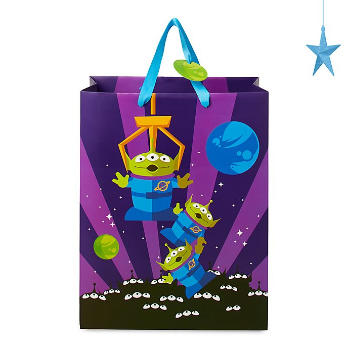 Disney Store Sac cadeau deluxe Les Aliens, Toy Story