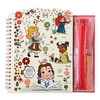 Libro para colorear borrable, colección Animators, Disney Store