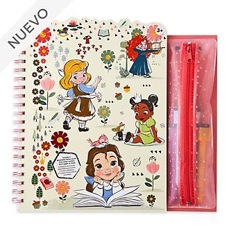 Libro para colorear borrable, colección Animators, Disney Store