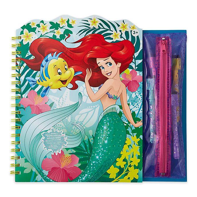 Disney Store The Little Mermaid Erasable Art Book