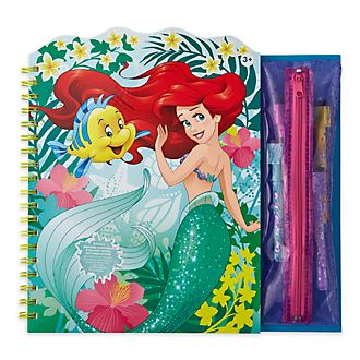 Libro para colorear borrable La Sirenita, Disney Store