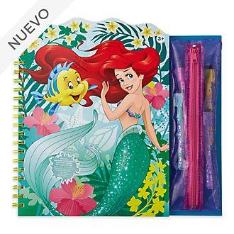 Libro para colorear borrable La Sirenita, Disney Store