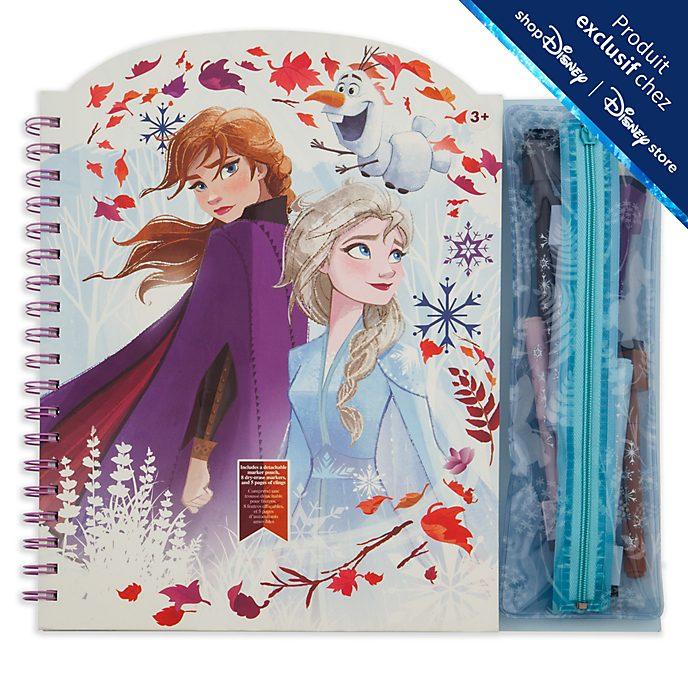 Disney Store Cahier d'activités effaçable La Reine des Neiges2