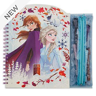 Disney Store Frozen 2 Erasable Art Book