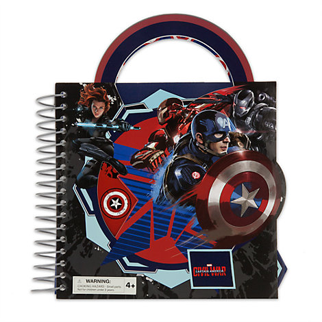 Captain America: Civil War Fun On The Run Activity Set