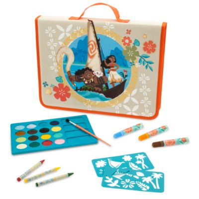 Moana Filled Art Pencil Case