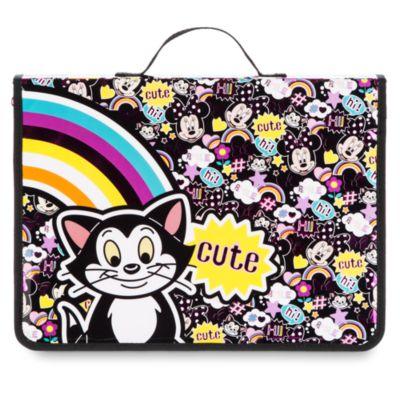 Minnie Maus und Figaro - Zeichen-Federmäppchen mit Inhalt