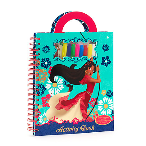 Elena Of Avalor Carry Along Activity Pack